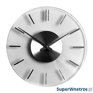 Zegar ścienny 26 cm NEXTIME Stripe - 2843254475