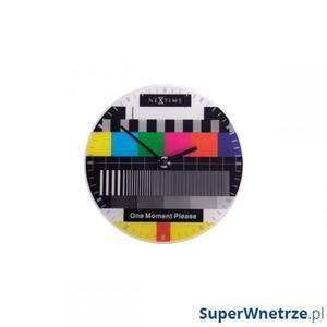 Zegar ścienny NEXTIME Little Testpage - 2845862233