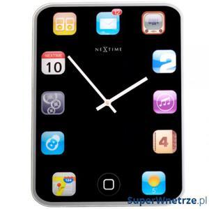 Zegar ścienny NEXTIME Wall Pad - 2843254303