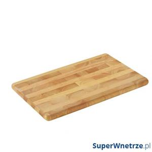 Deska do krojenia 45x30 cm Zassenhaus drewno kauczukowe - 2843456858