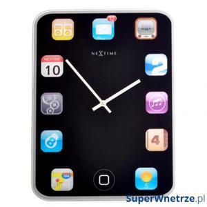 Zegar stołowy Nextime Mini Wall Pad - 2843259844