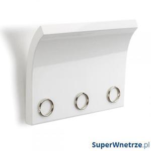 Panel z magnesami na klucze i listy Umbra Magnetter biały - 2843259049