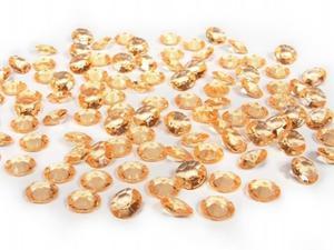 Diamentowe konfetti - ADC12-019 - Złoty (1opk) - 2825622601