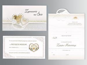 Zaproszenia ślubne ZSP-976 (1zestaw) - 2845856539