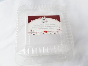 Pudełka na ciasto 15X15X8cm (kpl.10szt) - 2846826003