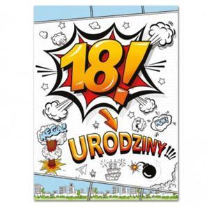 Etykiety na butelki 18 urodziny (25szt)- E804 - 2889401603