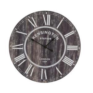 Light & Living :: Zegar ścienny duży 80 cm KENSINGTON wood brown (LL6202900) - 2836032689