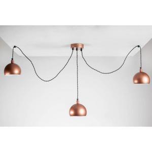 HOME Design Lux :: Lampa wisząca pająk TESTER 3LP/MIEDŹ/MIEDŹ (TB052) - 2854928474
