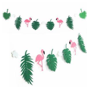 HOME Design Party :: Girlanda Flaming i liście kokosa, Summer party, wzór tropikalny 2,5m - 2855489999