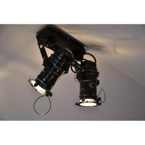 HOME Design Lux :: Lampa punktowa, ścienna Reflektor DRAGON II, czarna (TB228) - 2858000869