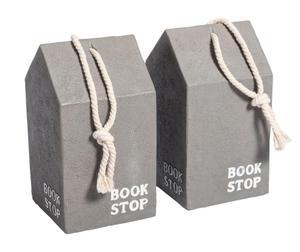Belldeco :: Podpórka dla książek kpl. 2 sztuki, ceramika (BD_C11168560SZ) - 2861827960