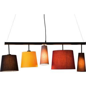 HOME Design :: Lampa Parecchi 100cm na pałąku, kolorowe klosze (35777) - 2868610341