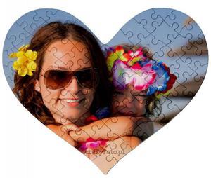 Puzzle serce z ulubionym zdjęciem - 2833107507