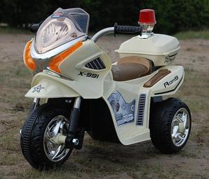 MOTOR, MOTOREK POLICYJNY Z KOGUTEM/WXE368 - 2833186681