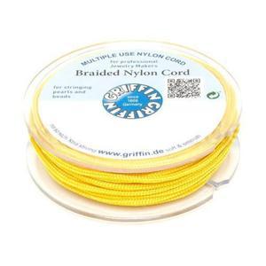 Griffin BRAIDED NYLON CORDS Sznurek nylonowy pleciony 0.5mm 25m - Yellow - 2857441638