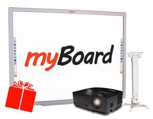 """Zestaw interaktywny Myboard, InFocus SMYK 70"""" przesyłka gratis - 2852650691"""