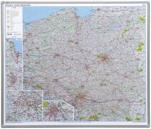 Tablica-mapa drogowa 102,5x120 z serii Office płyta magnetyczna - 2852650762