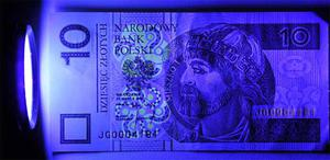Latarka UV 9 LED diodowa tester banknot�w uranium Latarka UV 9 LED diodowa tester banknot�w uranium - 2840690685