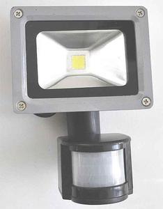 LAMPA LED HALOGEN NAŚWIETLACZ PROJEKTOR OŚWIETLACZ HALOPAK REFLEKTOR 10W Z CZUJKĄ RUCHU LAMPA LED HALOGEN NAŚWIETLACZ PROJEKTOR OŚWIETLACZ HALOPAK REFLEKTOR 10W Z CZUJKĄ RUCHU - 2840690689