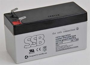 Akumulator SSB agm żelowy 12V/1,3Ah Akumulator SSB agm żelowy 12V/1,3Ah - 2840690190