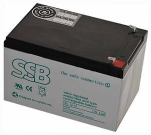 Akumulator SSB agm żelowy 12V/12Ah Akumulator SSB agm żelowy 12V/12Ah - 2840690193