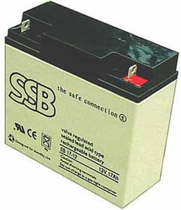 Akumulator SSB agm żelowy 12V/17Ah Akumulator SSB agm żelowy 12V/17Ah - 2840690195