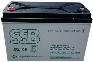 Akumulator SBL żelowy 12V/100Ah - 2840690201