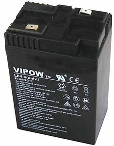Akumulator agm żelowy VIPOW 6V 4Ah (uniw.) - 2840690358