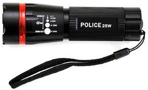 Latarka POLICE 25W LED 3xR03 policyjna wojskowe taktyczna Latarka POLICE 25W LED 3xR03 policyjna wojskowe taktyczna - 2840690398