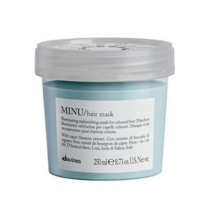 Essential Haircare Minu Hair Mask Pak odbudowująca maska do włosów farbowanych 250 ml Davines - 2855000465