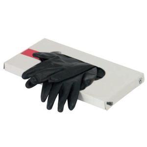 Rękawiczki latex rozmiar L czarne 20 szt. Mila Technic - 2838703375