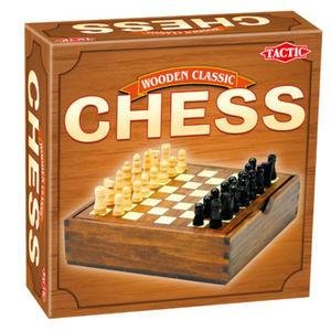 TACTIC - Wooden Classic - Szachy - 2726613587