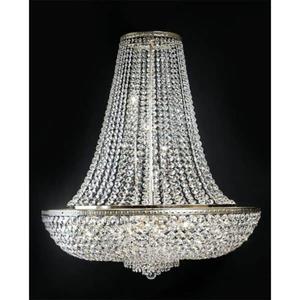 Żyrandol Lora kryształ włoski 40 cm - SONPOL - 2822878354