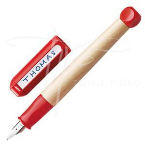 Pióro szkolne Lamy ABC czerwone dla leworęcznych + opakowanie - 2822736610