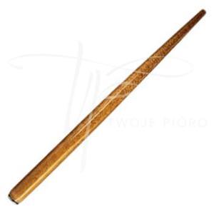 Obsadka stalówek drewniana, uniwersalna Brause - średni brąz - 2835583787