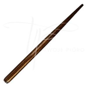 Obsadka stalówek drewniana, uniwersalna Brause - ciemny brąz - 2835583788