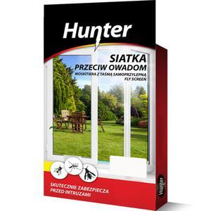 Moskitiera - siatka przeciw owadom 150x180cm biała Hunter - 2840731073