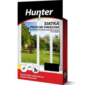 Moskitiera - siatka przeciw owadom 150x180cm czarna Hunter - 2840731074