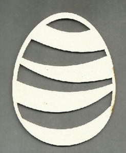Wielkanocne jajko z tekturki- SK271 - 2824972509