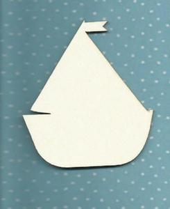 Łódka z tekturki- SK304 - 2824972574