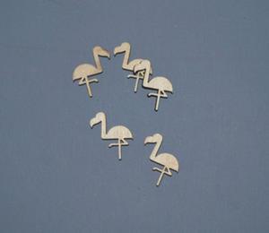 Flamingi - scrapki 5 szt - SD105 - 2824972689