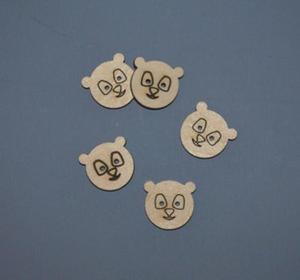 Panda scrapki 5 szt - SD114 - 2824972698