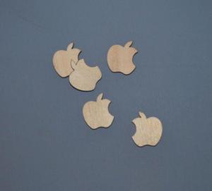 Nadgryzione jabłko 5 szt - SD119 - 2824972703
