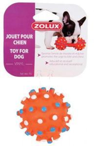 Zolux Zabawka winylowa piłka z wypustkami 7cm - 2822747060