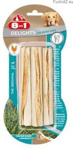 8in1 Dental Delights Sticks 3szt - 2850208437