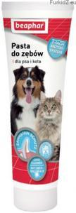 Beaphar Pasta do zębów o smaku mięsa dla psa i kota 100ml - 2845437510