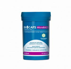 Probiotyki / Synbiotyki BICAPS MICROBACTI ForMeds Mikroflora jelit. - 2865638179