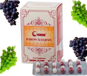 Fohow XUEQINFU 120 sztuk po 250 mg Kapsułki Siueczinfu Feniks - oczyszczacz naczyń krwionośnych Nattokinaza - 2855267754