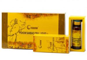 Fohow Sanbao Oral Liquid 4 flakony po 30 ml Eliksir Trzy klejnoty Feniks - 2855267756