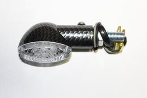 Kierunkowskaz uniwersalny LED WmMotor Carbon